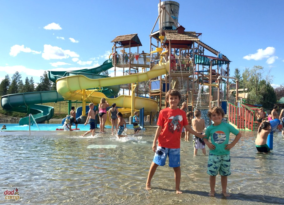 Boulder Beach at Silverwood - DadCAMP