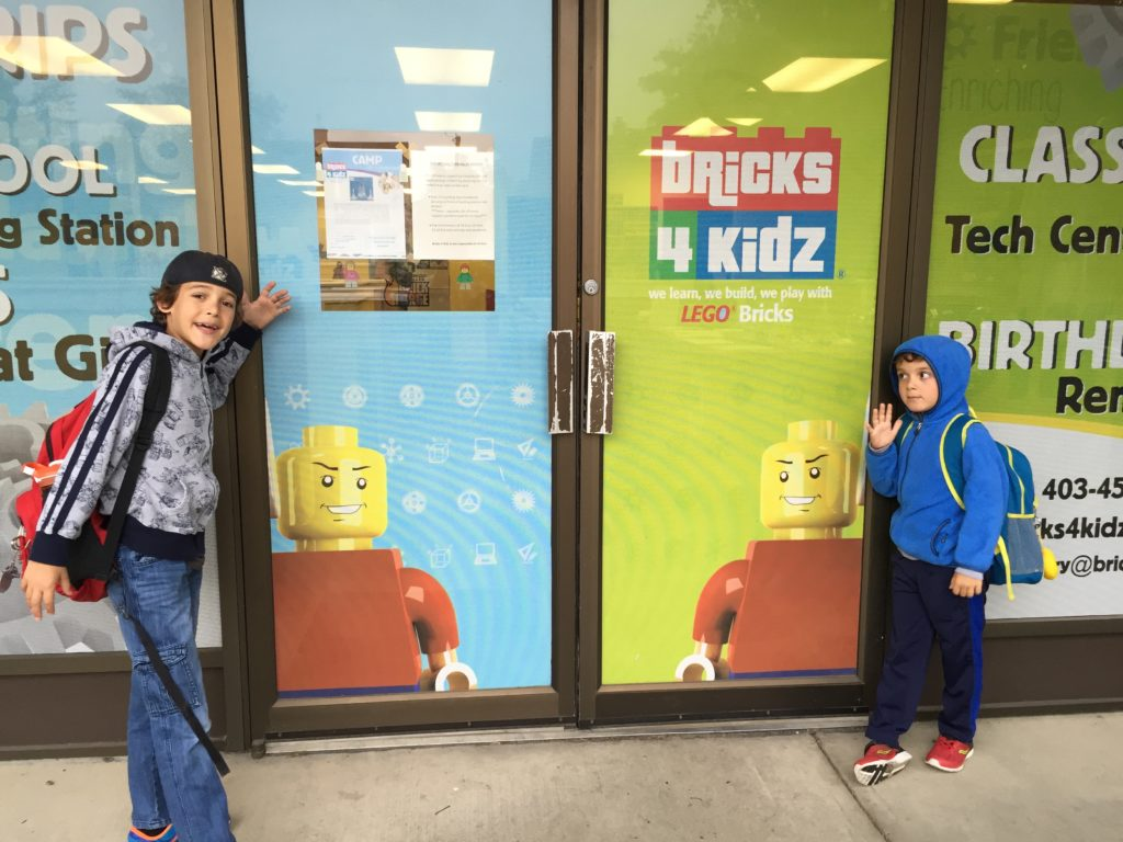 Bricks 4 Kidz summer camp in Calgary