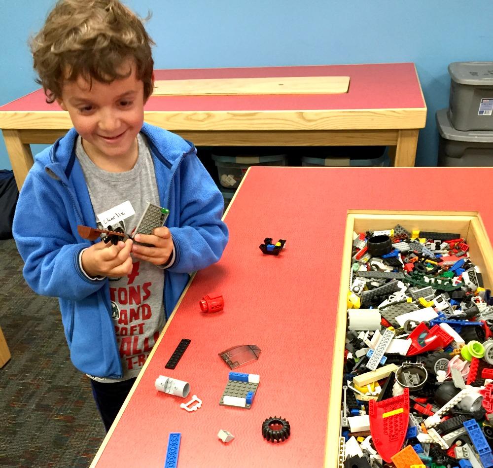 Lots of LEGO at Bricks 4 Kidz