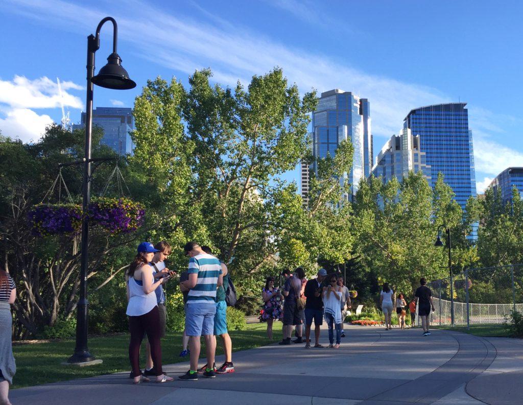Pokemon Go in Calgary