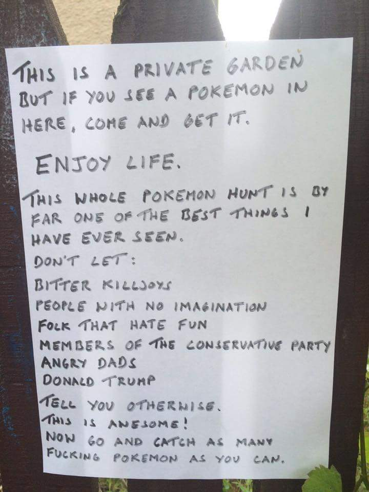 pokemon go letter