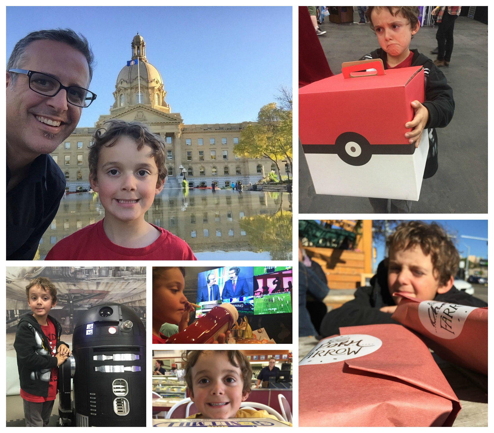 edmonton day with charlie