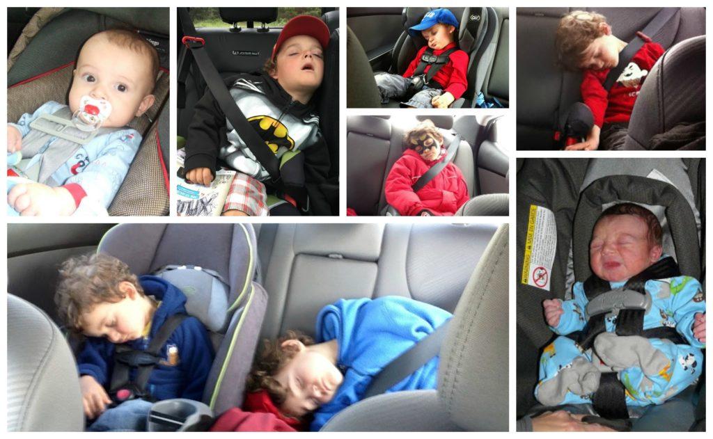 car seat montage