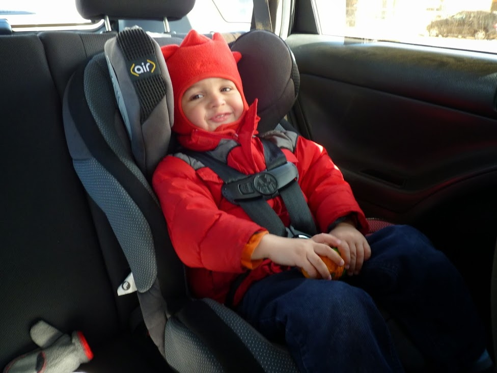 car seat winter