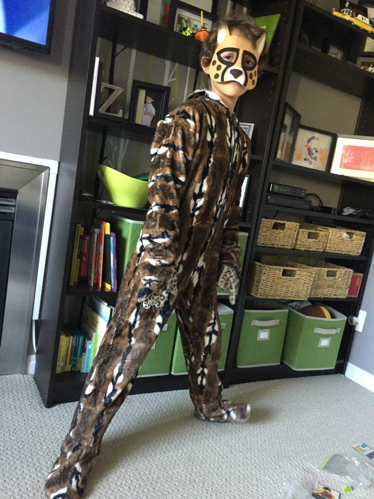 Halloween Leopard Costume