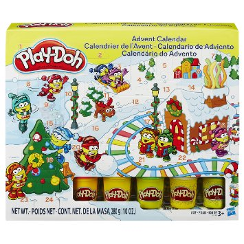Play Doh Advent Calendar
