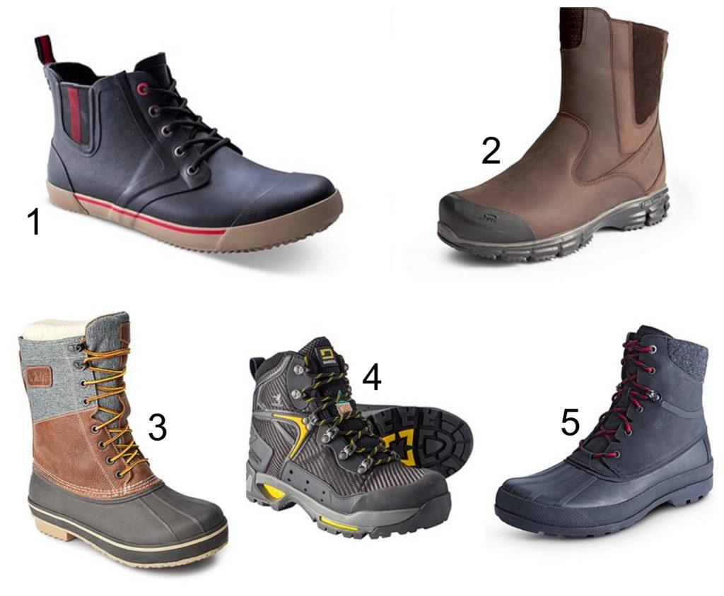 Men's Winter Footwear at Mark's