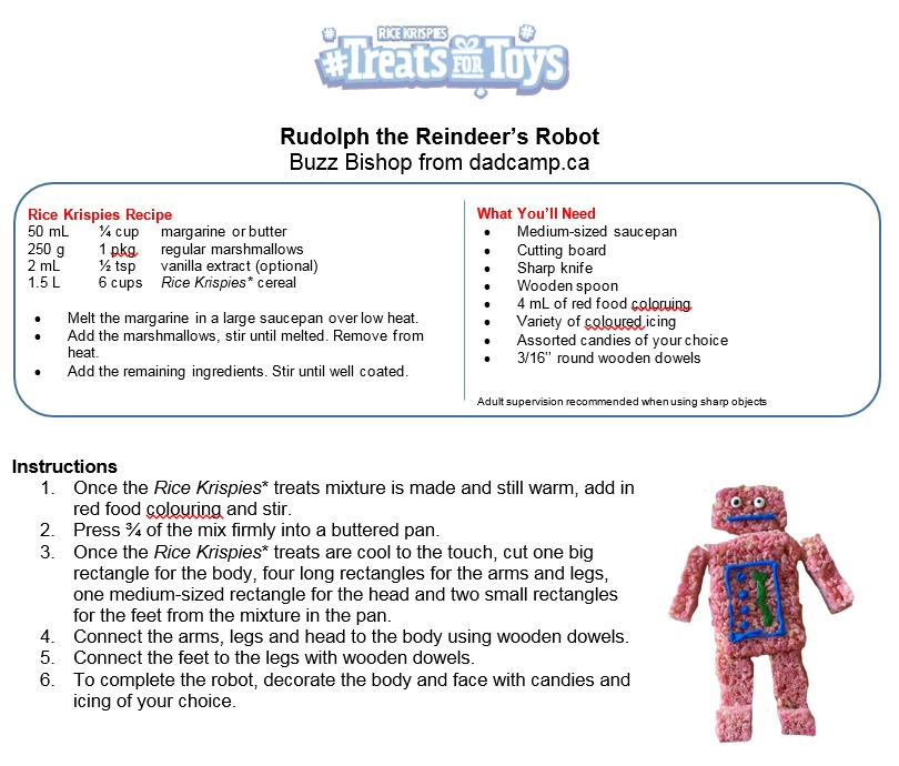 Robot Treats For Toys