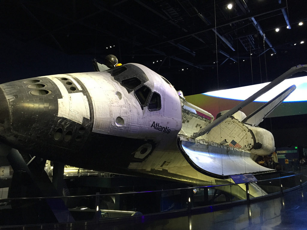 Atlantis at Kennedy Space Centre