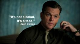 matt damon taco quote