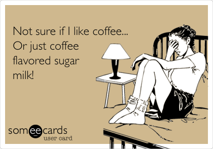coffee sugar milk