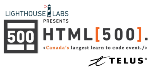 TELUS and HTML 500