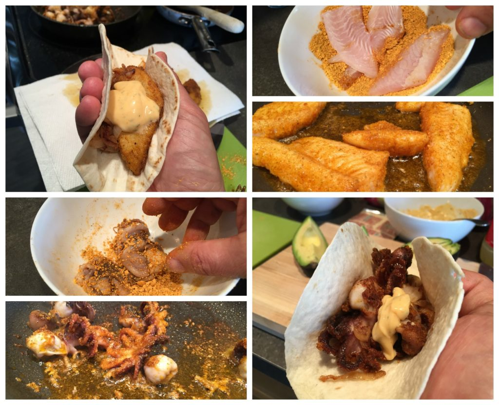 how to make fish tacos youtube