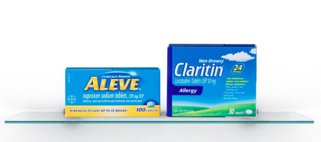 aleve claritin