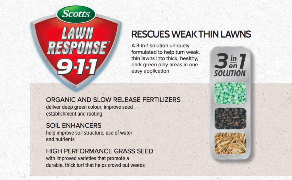 Scotts Lawn Response 911