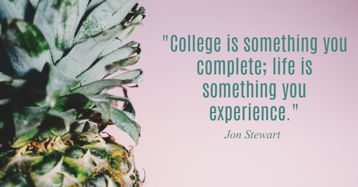 Jon Stewart Graduation Advice