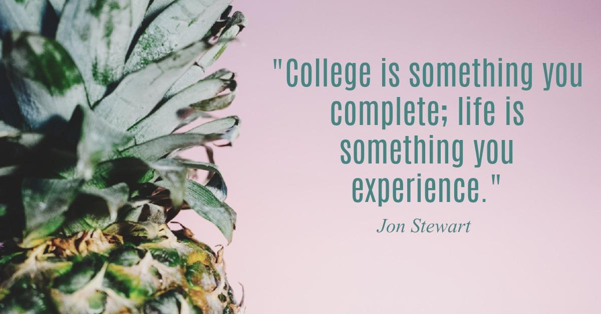 Jon Stewart Graduation Advice