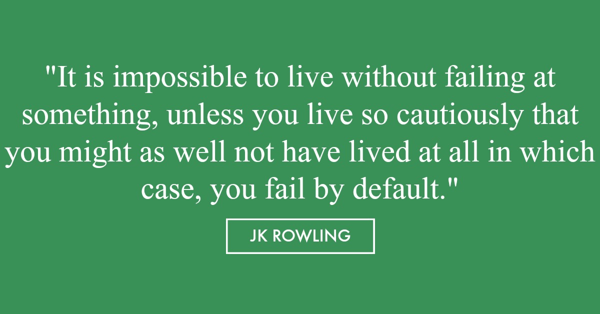 JK Rowling graduation quote