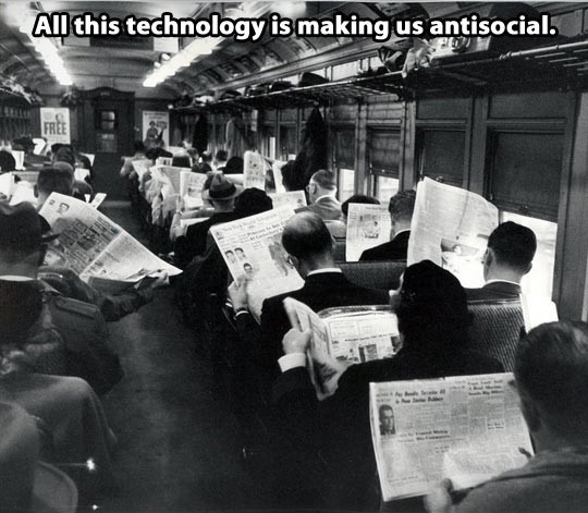 newspaper antisocial