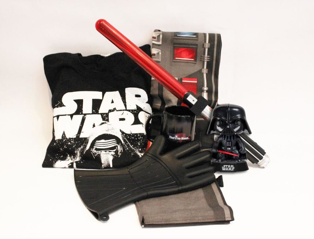 Star Wars prize pack