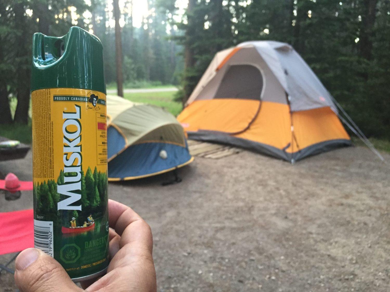 Muskol camping