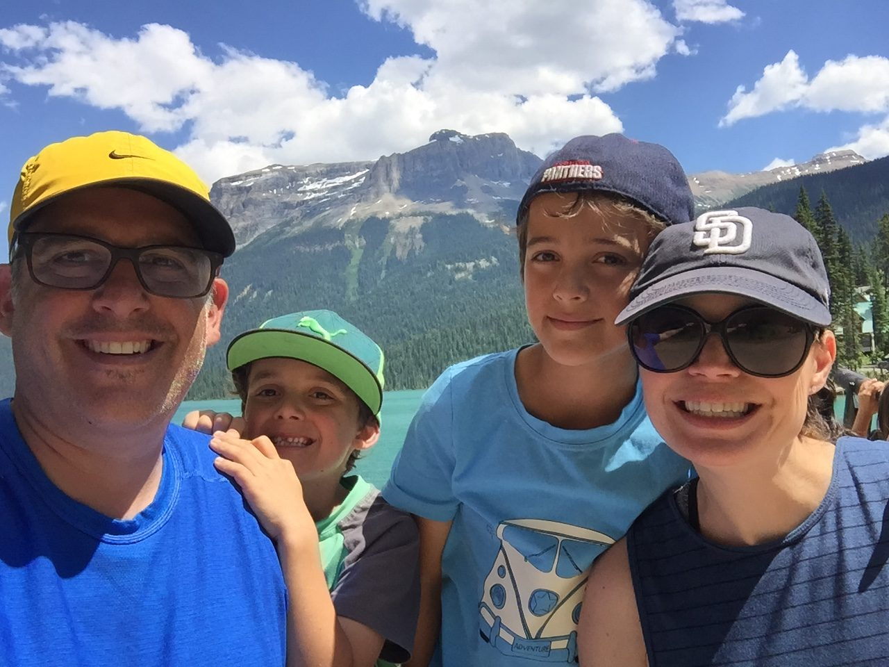 family mountain