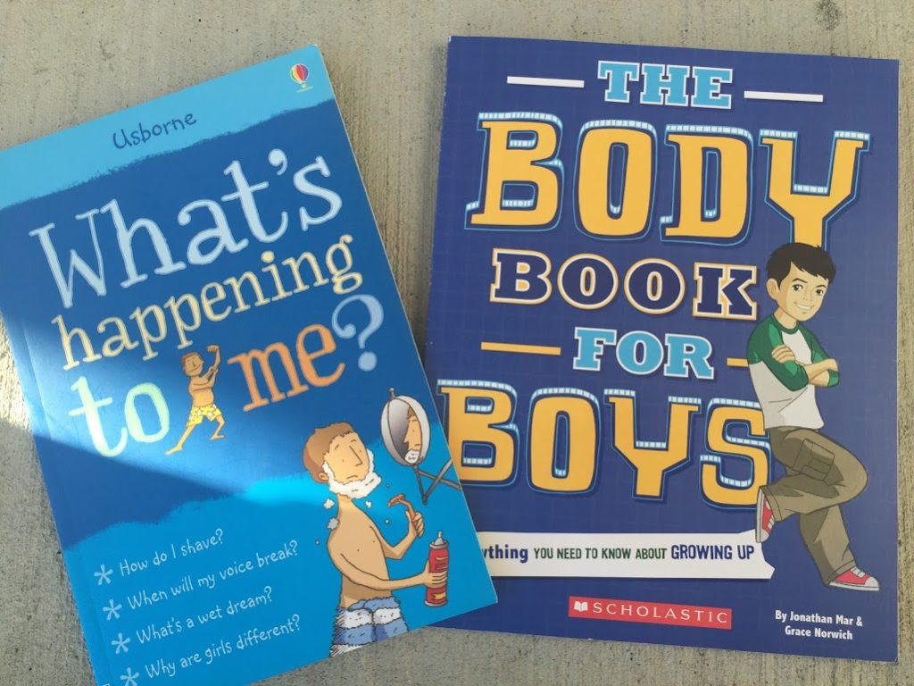 body book for boys