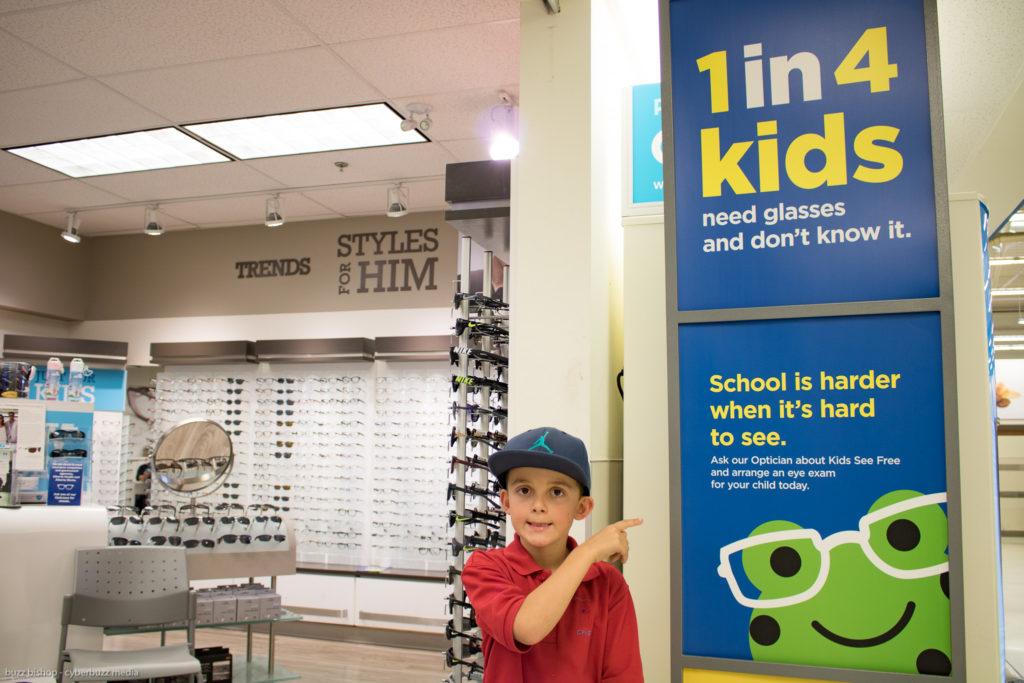charlie eye exam