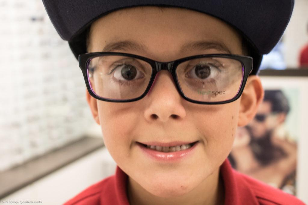 Charlie wants glasses