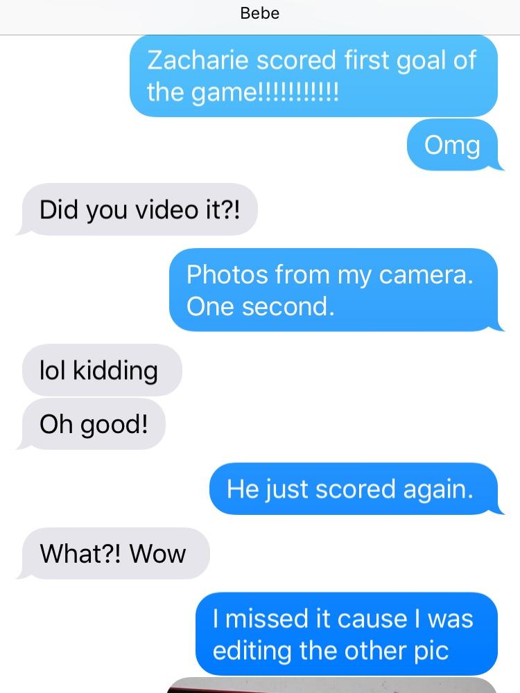 zacharie goal text
