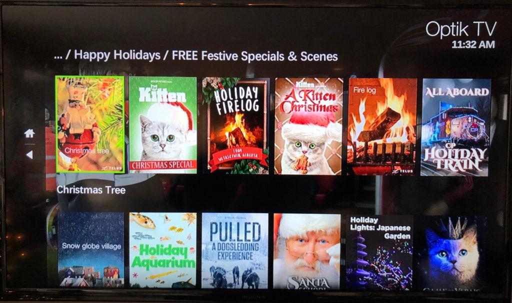 TELUS Santa Tracker And A Digital Advent Calendar On Optik TV